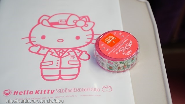 新幹線限定Hello Kitty紙膠帶