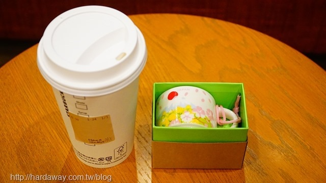 日本星巴克櫻花圖案咖啡杯