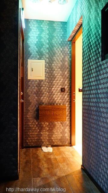 極光情境旅館車庫主題房型
