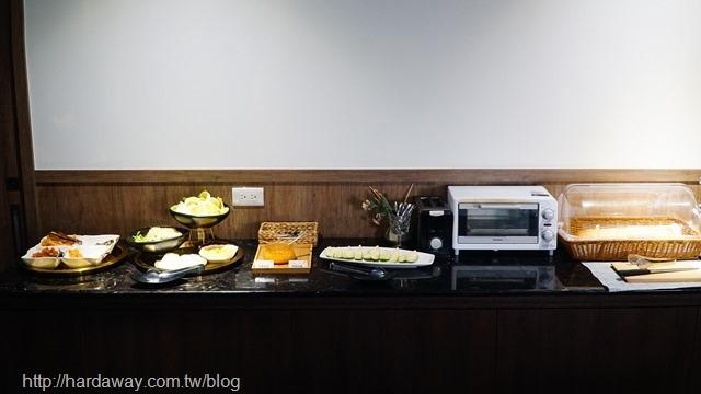 極光情境旅館早餐