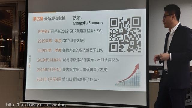 蒙古經濟數據