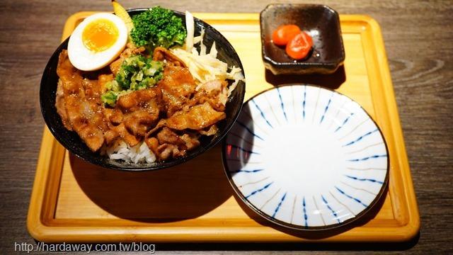 鹽蔥燒肉丼