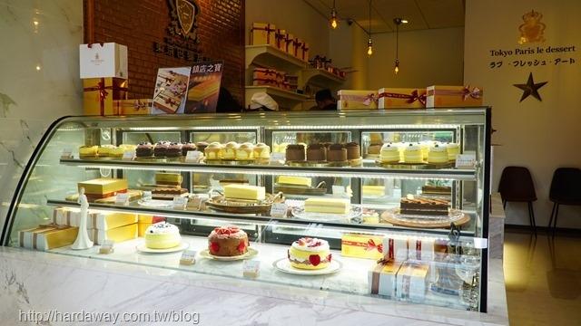 東京巴黎甜點蛋糕