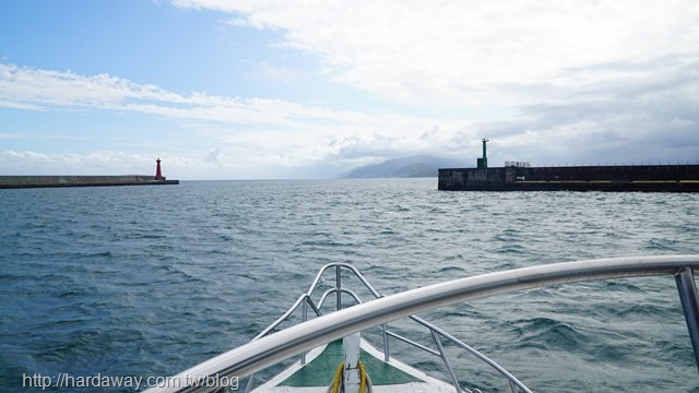 海上看花蓮港區