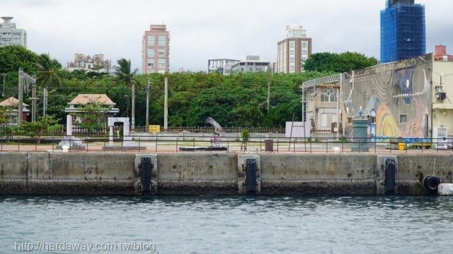 海上看太平洋臨港歷史廊道