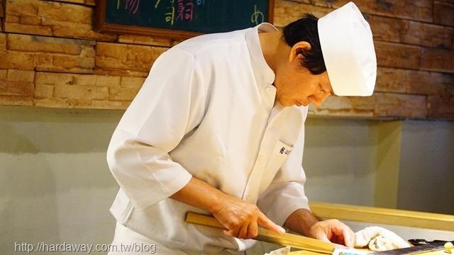 樂山割烹壽司老闆