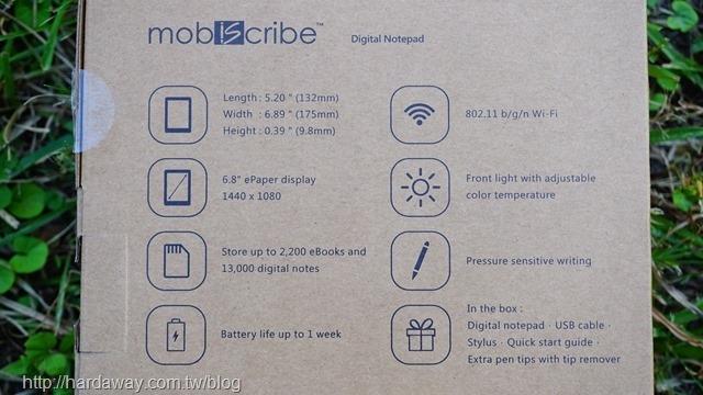 MobiScribe電子閱讀器