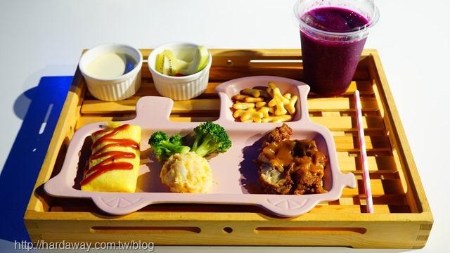 小火車兒童餐
