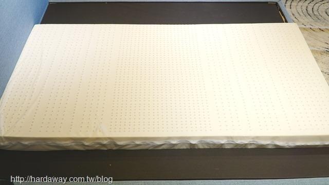 泰國純天然乳膠薄墊