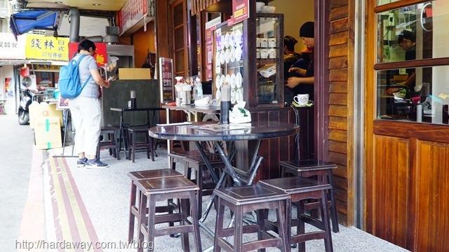 蘭芳麵食館用餐空間