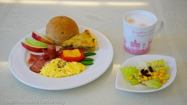 希格瑪花園城堡西式手作早餐