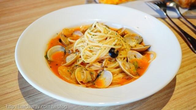 墨西哥番茄蛤蜊義大利麵