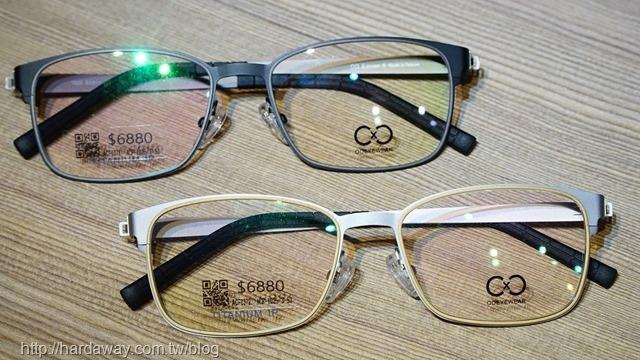 圈圈眼鏡鏡框