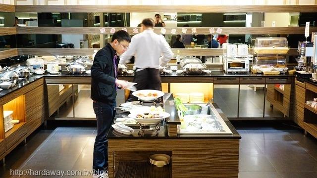 台北麗都唯客樂飯店早餐