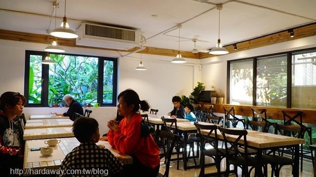桂緣食坊用餐空間
