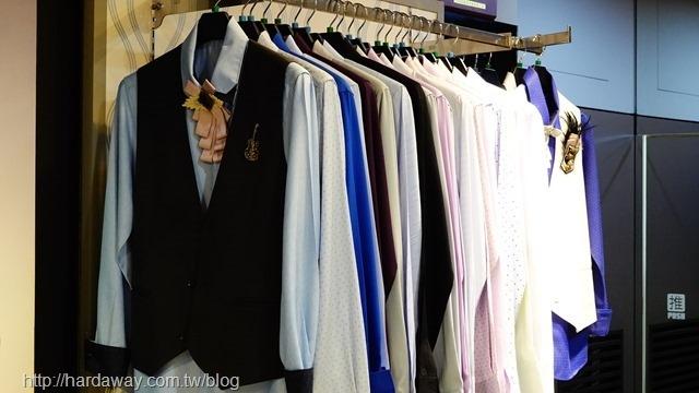 台北窄版合身襯衫