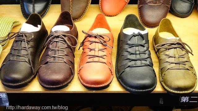 皮克米寬楦休閒皮鞋