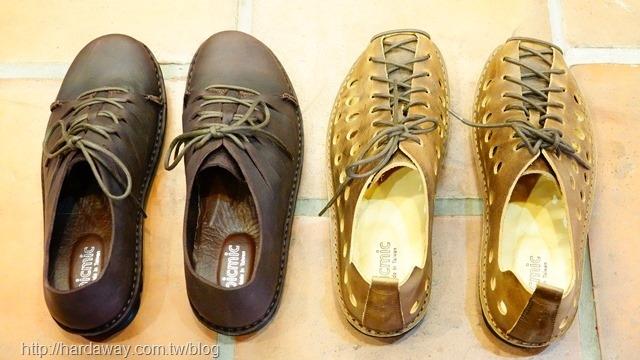 寬楦休閒皮鞋