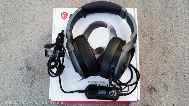 微星IMMERSE GH50 GAMING電競耳機