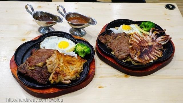 19號倉庫鐵板牛排朴子店排餐