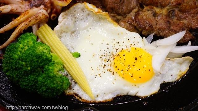 19號倉庫鐵板牛排排餐配菜