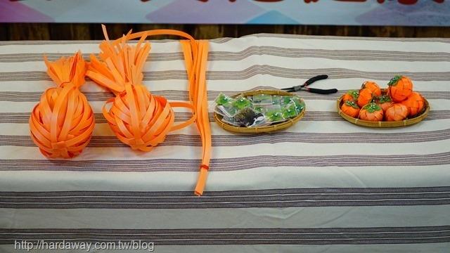 DIY甜柿吊飾