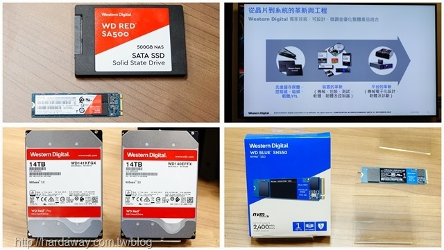WD NAS儲存新品
