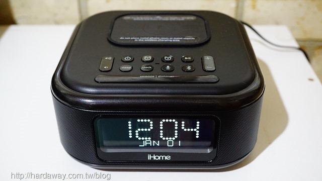 iHome無線充電藍牙喇叭