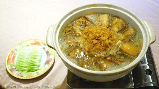 白帶魚米粉煲
