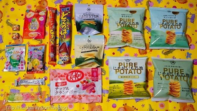 最新日本零食