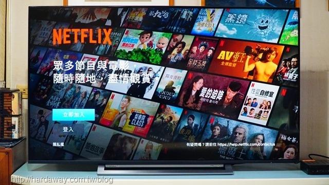 內建Netflix智慧電視