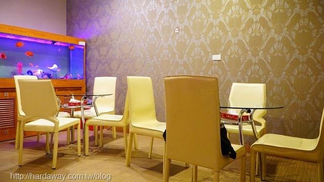 晶華養生會館休息區