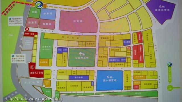新店央北重劃區建案