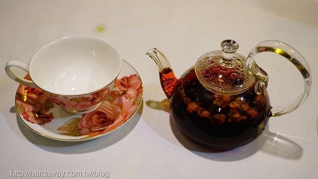 有機草莓覆盆子水果茶