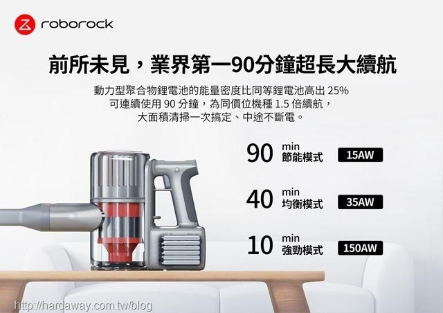 Roborock H6旗艦無線手持吸塵器序航力