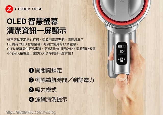 Roborock H6特點