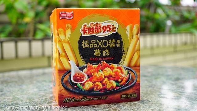 卡廸那95℃極品XO醬風味薯條