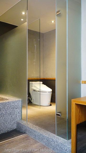 東旅湯宿風華漾館房間浴室
