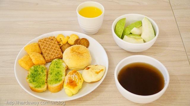 東旅湯宿風華漾館下午茶
