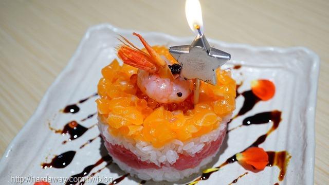 海鮮壽司蛋糕