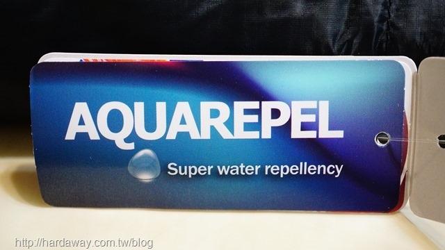 超強防潑水能力