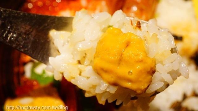 牡丹蝦海鮮丼