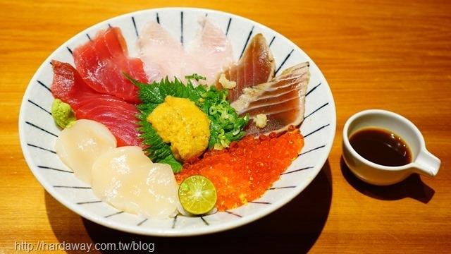 時令鮮魚海鮮丼
