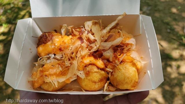 龍蝦沙拉章魚燒