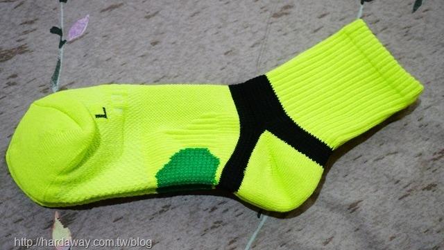 耐爾吉斯極度透氣足弓運動厚中長襪