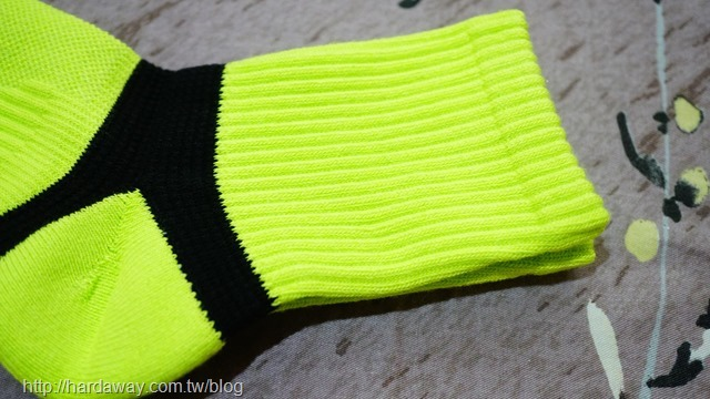 NIRGICE極度透氣足弓運動襪織法