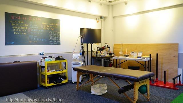 放勢運動工作室環境