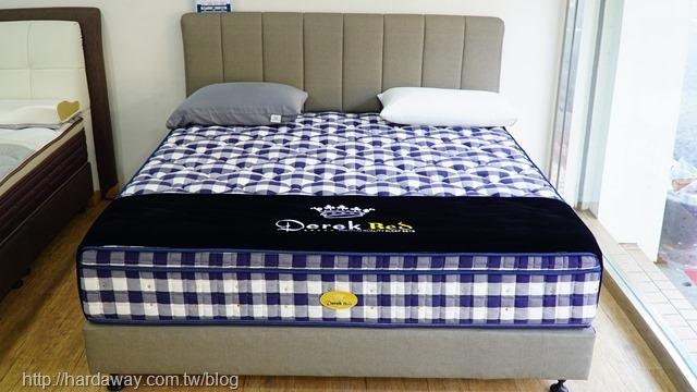 德瑞克名床頂級馬毛床墊
