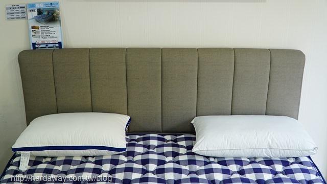 德瑞克名床枕頭