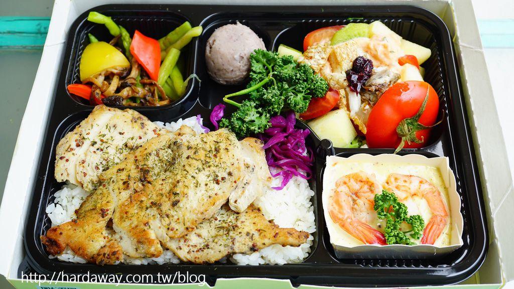 法式雞排佐蒔蘿客製餐盒